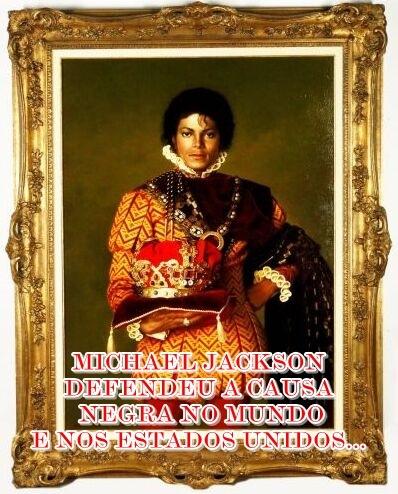Michael Jackson lutou pela raça negra