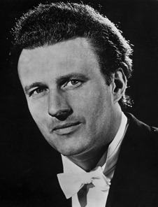 Sir Colin Davis at the time of his Metropolitan Opera début in Peter Grimes, 1967 [Photo by the MET]