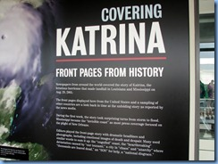 1471 Washington, D.C. - Newseum - Covering Katrina Exhibit