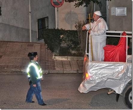 disfraz de pontifice
