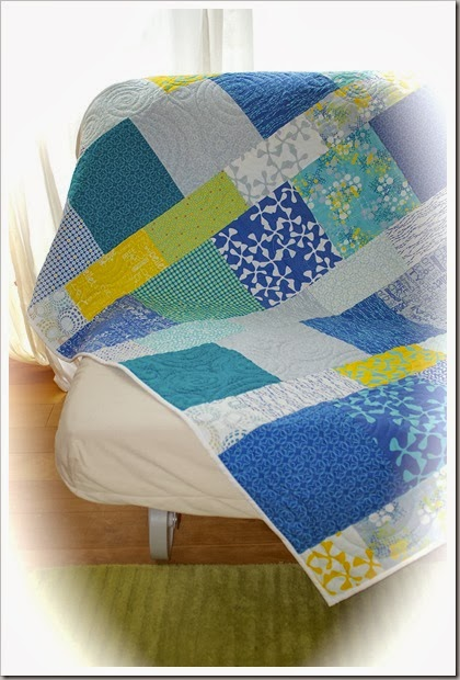 Sphere Layer Cake Lemonade Quilt