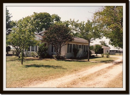 Barry, Texas home, where I grew up.