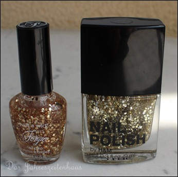 H&M Nagellack Dupe Wet'n'Wild Glamorous Stay Golden