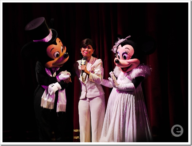 Raki/Bebe with Mickey and Minnie