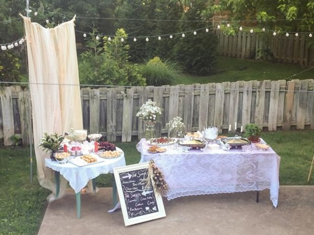 for an outdoor party this vintage rustic party would be perfect use
