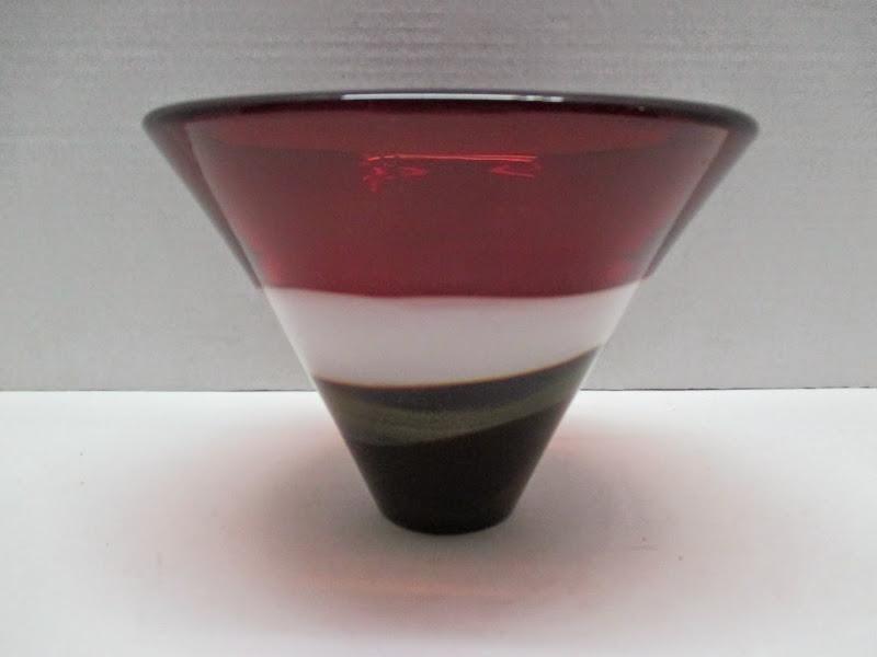 KWL Art Glass Bowl