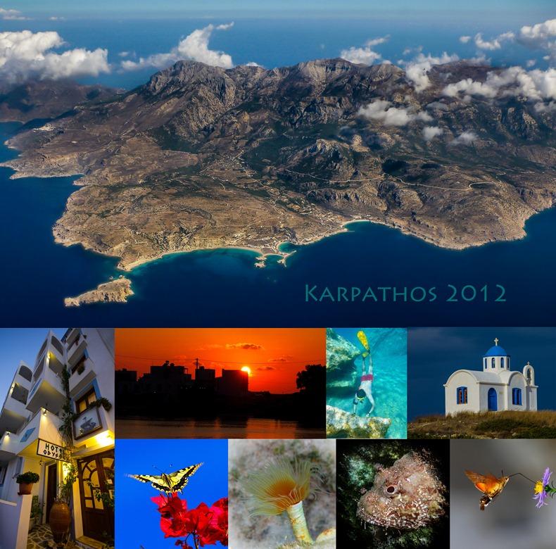 Postkort Karpathos 2012