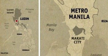 Makati Location Map