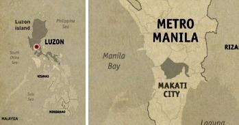 Makati Location Map