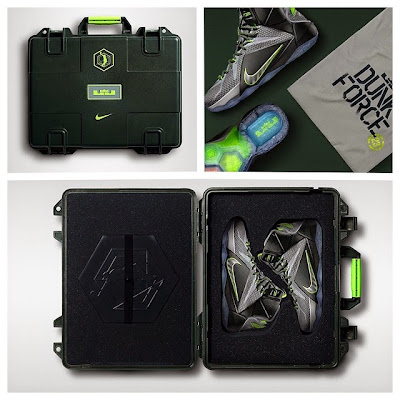 nike lebron 12 gr dunkman 5 05 dunkforce Limited Dunk Force LeBron 12 in Special Box to Drop in China