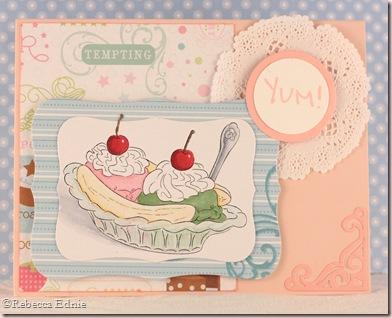 ice cream sundae yum
