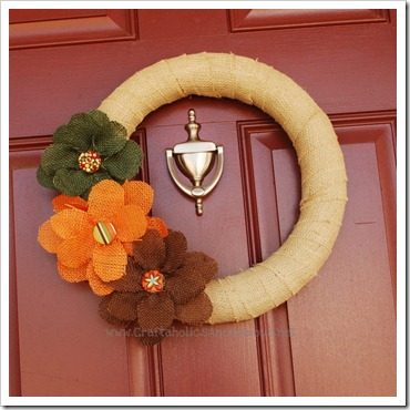 linda fall wreath