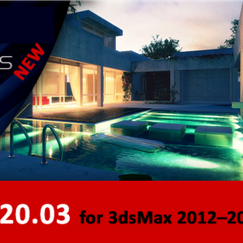 Vray 2.20.03 + 2.20.02 for 3ds Max 2012–2009 x86/x64