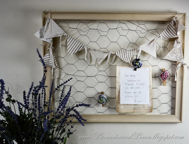Message Board - Lavender & Linen-001