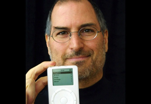 2001 First iPod steve jobs