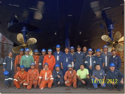 Foto tripulacion Bahia