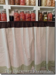 canning shelf - The Backyard Farmwife