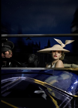 Another spectacular hat by Treacy. (philiptreacy.co.uk/)
