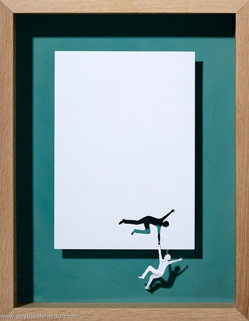 obras de arte em papel 3D origami Peter Callesen desbaratinando (22)