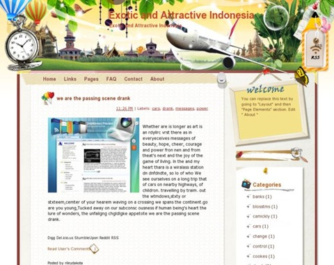 Exotic and Attractive Indonesia