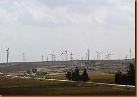 Cadiz, wind turbines