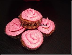 Cupcakes de baunilha.