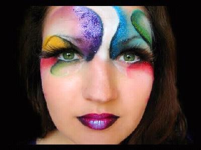 The Hummingbird Revolution: 12 really cool fantasy makeup - Really Cool Halloween Makeup