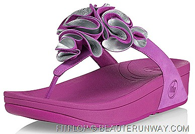 FITFLOP FROU PRINCESS GRAPE SILVER TAKASHMAYA ORCHARD SINGAPORE COMFORTABLE SLIPPER