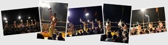 Ver ceremonia al Ganges