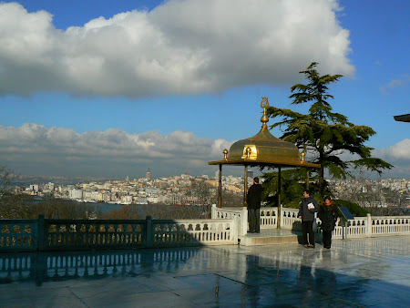 Sights of Turkey: Panorama from Topkapi Istanbul