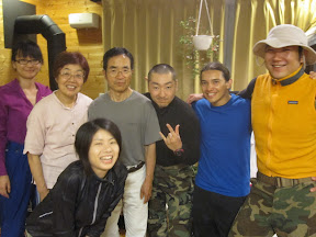 Climbing team and Miho's parents!! :D