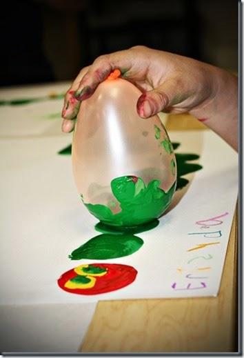 Very Hungry Caterpillar Balloon Art