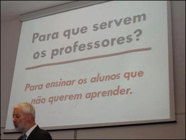 Para que servem os professores