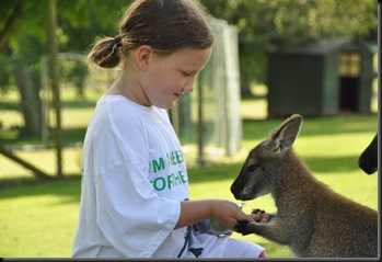 Jemina with Wallaby (resized)