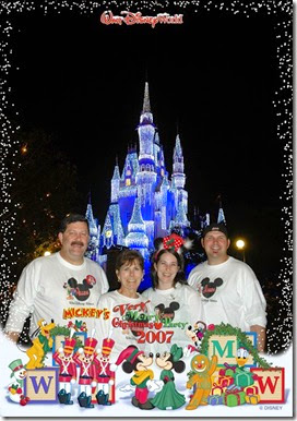 Walt Disney World at Christmas