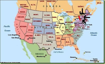 map-north-america paint