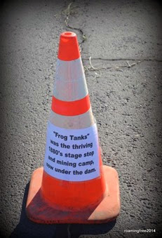 We had interesting trivia on cones along the dam