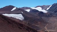 Eisflächen auf über 4000 Metern