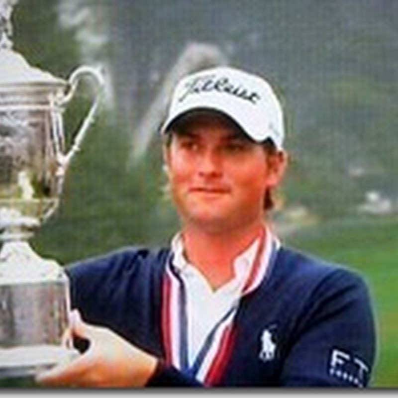 Webb Simpson Swapping Nappies for Claret Jug