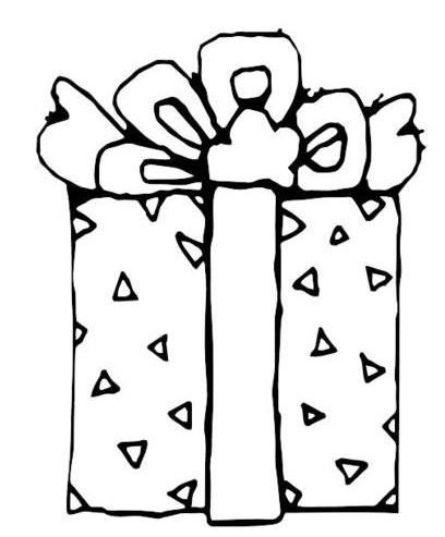 happy birthday presents coloring sheets coloring pages