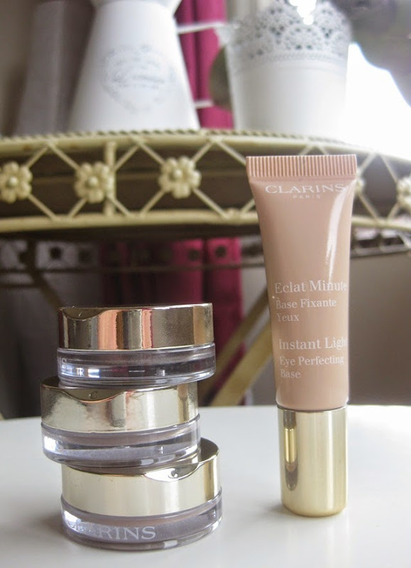 Clarins-Ombre-Matte-Eyeshadows Instant-Light-Perfecting-Eye-Base