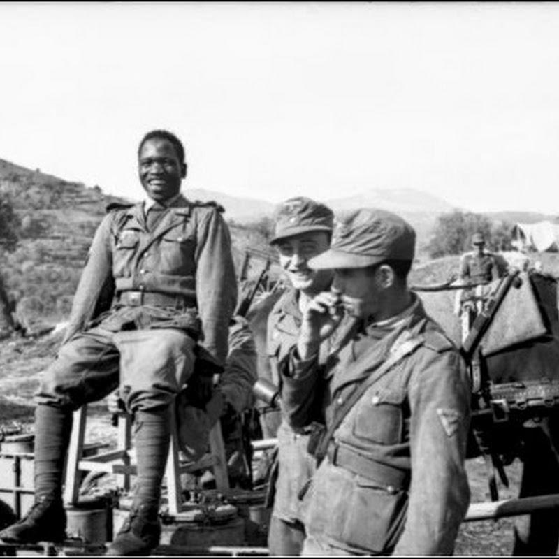 Os soldados africanos que serviram no exército nazista