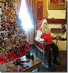 Velho Noel na cadeira - PENEDO