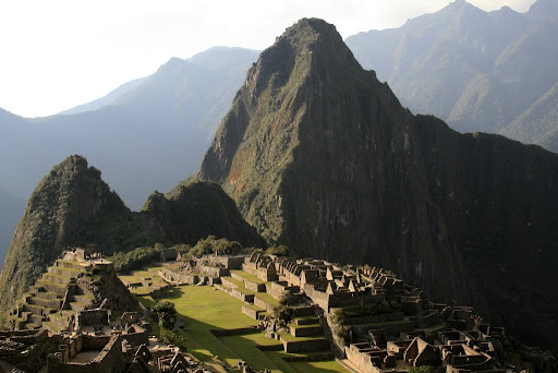One of the last and best shots of Machu Picchu, as the sun goes down it gets ready for another day.