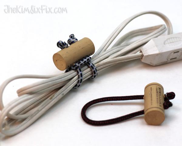 DIY cord ties