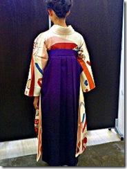 着付け師島の袴着付け (1)
