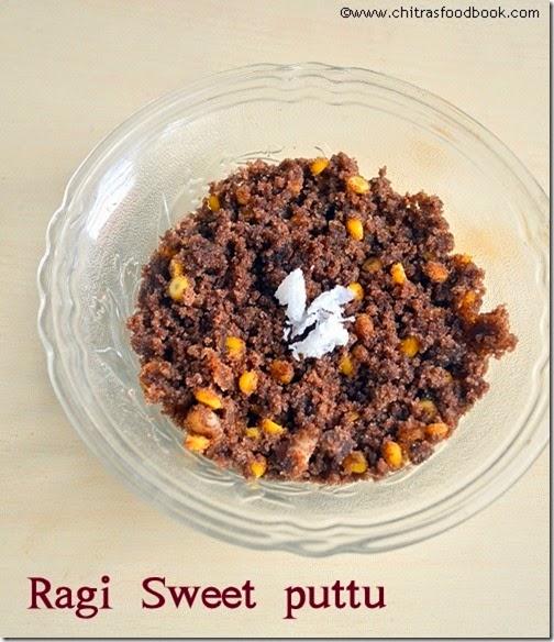 Ragi-sweet-puttu