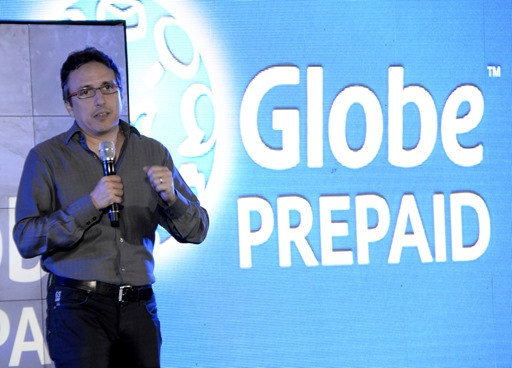 Globe Senior Advisor for Consumer Business Peter Bithos at the Globe GoSakto Launch