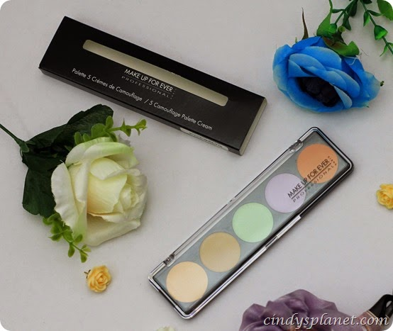 Make Up For Ever Camouflage Cream Palette (7)