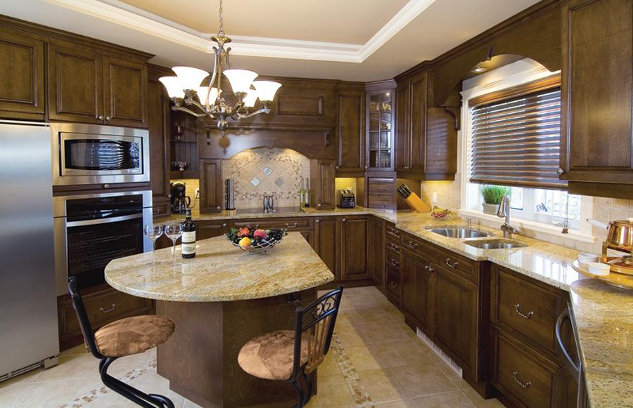 Salle De Bain Carrelage Parquet : Cuisine beige mur taupe quelle couleur mobilier bois wenge mosaique